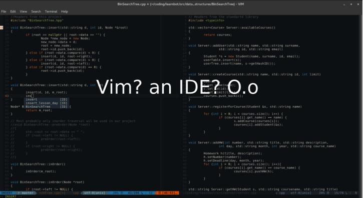 Vim IDE开发环境配置